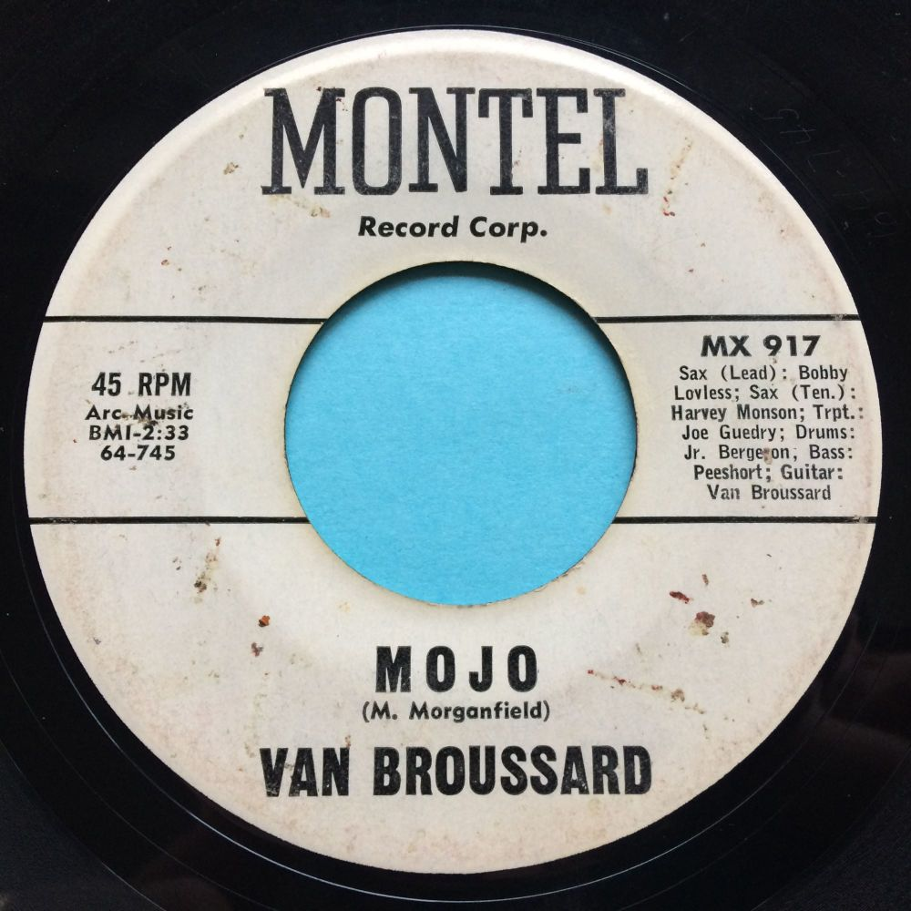 Van Broussard - Mojo - Montel promo - VG+