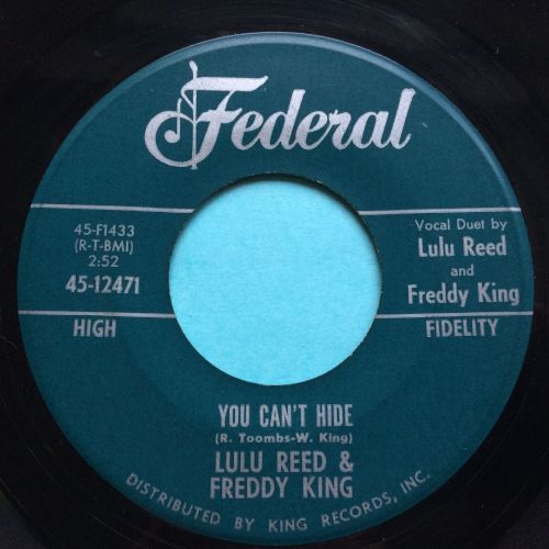 Lula Reed & Freddy King - You can't hide - federal - Ex-