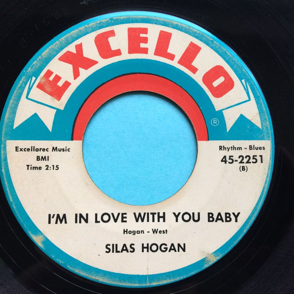 Silas Hogan - I'm in love with you baby - Excello - Ex-