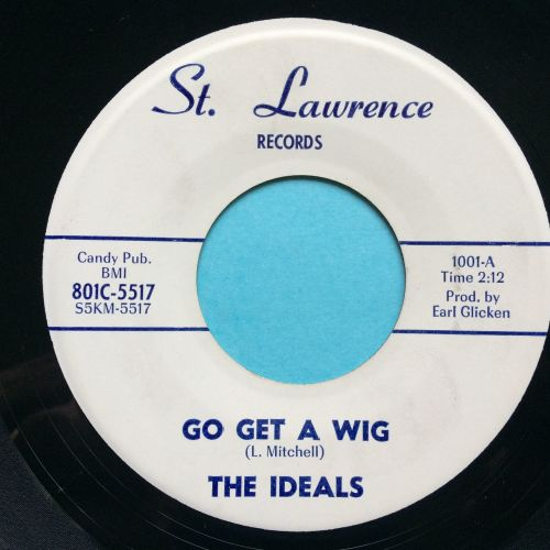 Ideals - Go get a wig - St.Lawrence - Ex (slight dish nap)