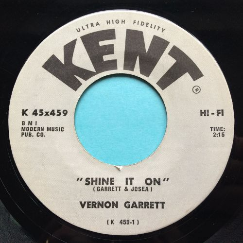 Vernon Garrett - Shine it on - Kent - Ex