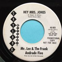Mr Lee & The Frank Andrade Five - Hey Mrs. Jones - Skylark promo - Ex