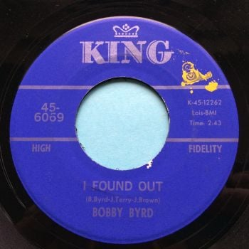 Bobby Byrd - I found out - King - Ex-