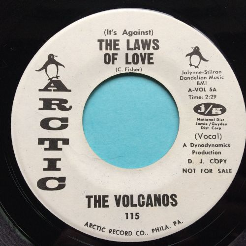 Volcanos - (It's against) The Laws of love - Artic (one sided promo) - Ex