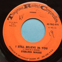 Sterling Magee - I still believe in you b/w Tighten Up - Tangerine - VG+