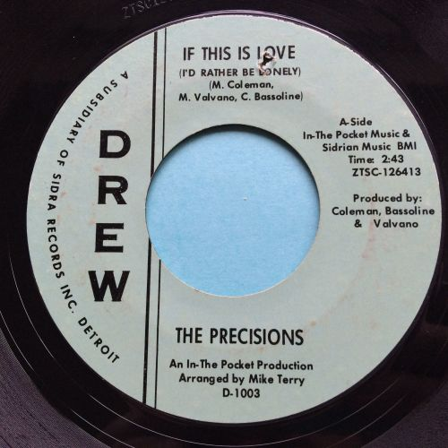 Prescisions - If this is love (I'd rather be lonely) - Drew - Ex