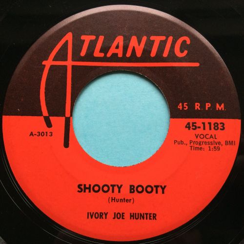 Ivory Joe Hunter - Shooty Booty - Atlantic - Ex