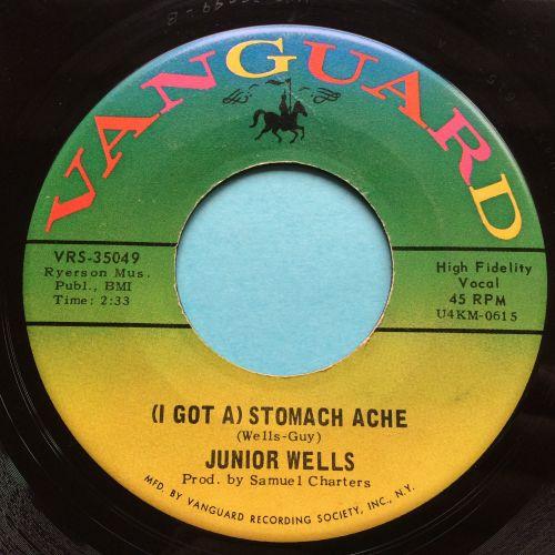 Junior Wells - (I got a ) Stomache Ache b/w Shake it baby - Vanguard - Ex