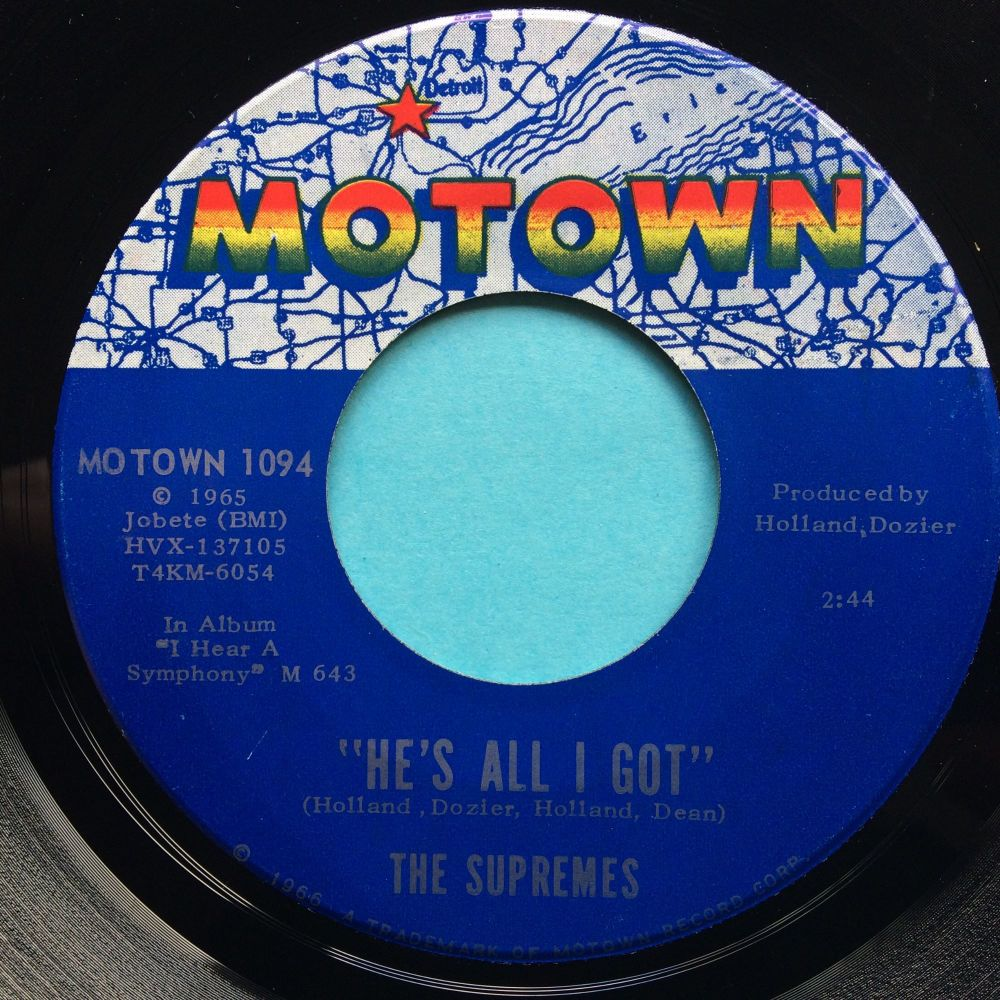 Supremes - He's all I got - Motown - Ex-