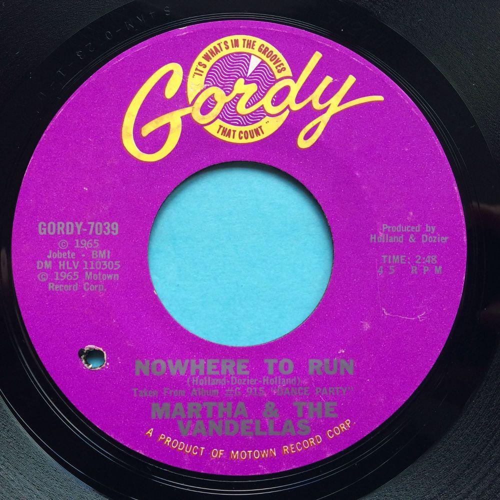 Martha & The Vandellas - Nowhere to run - Gordy - Ex-