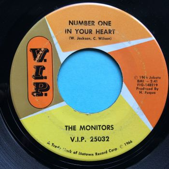 Monitors - Number one in your heart - V.I.P. - Ex-