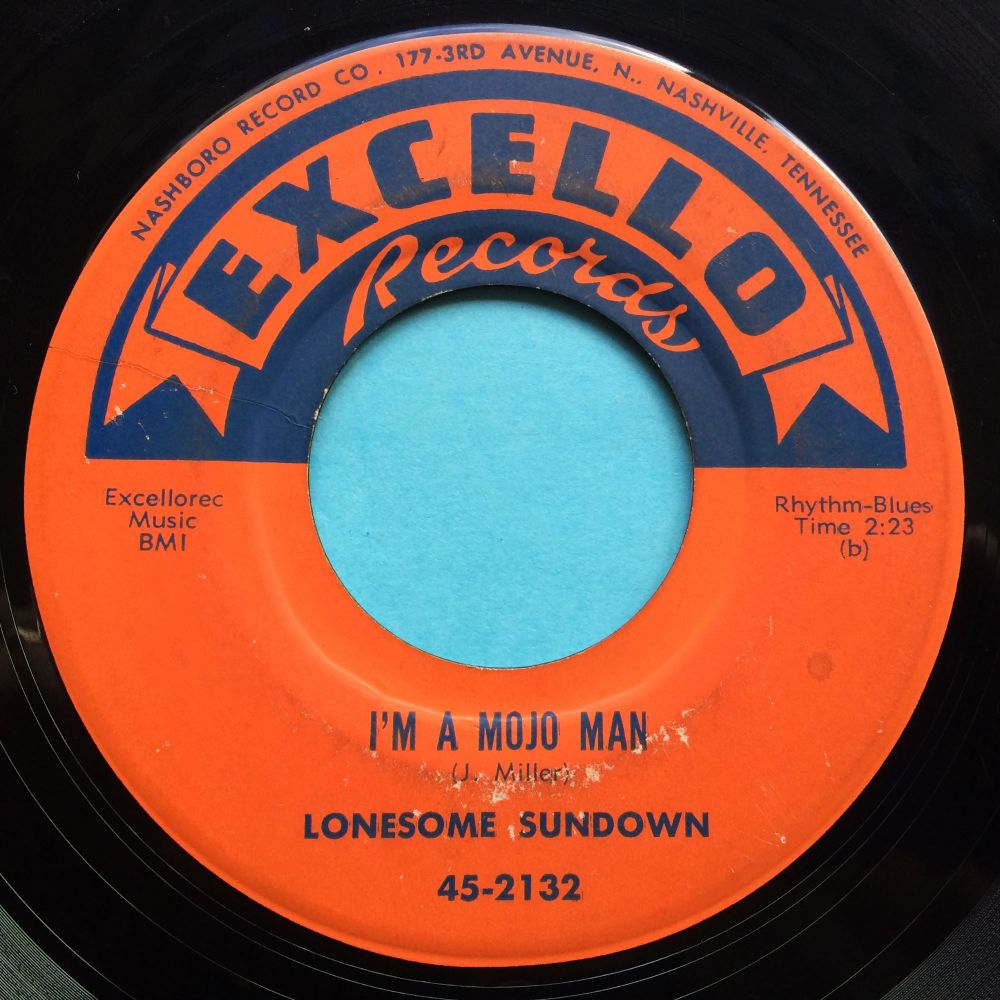 Lonesome Sundown - I'm a mojo man - Excello - VG+