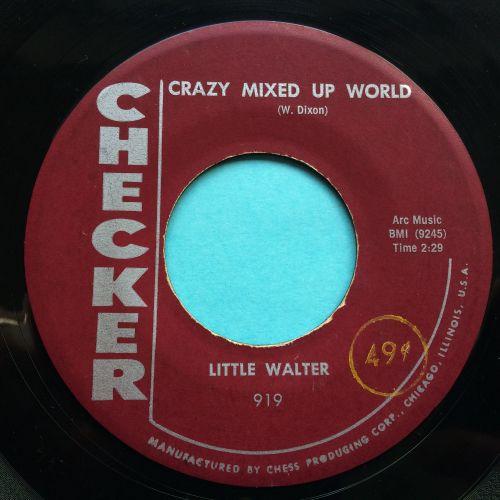 Little Walter - Crazy mixed up world - Checker - Ex-