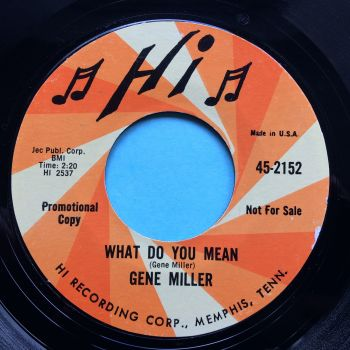 Gene Miller - What do you mean - Hi promo - Ex-