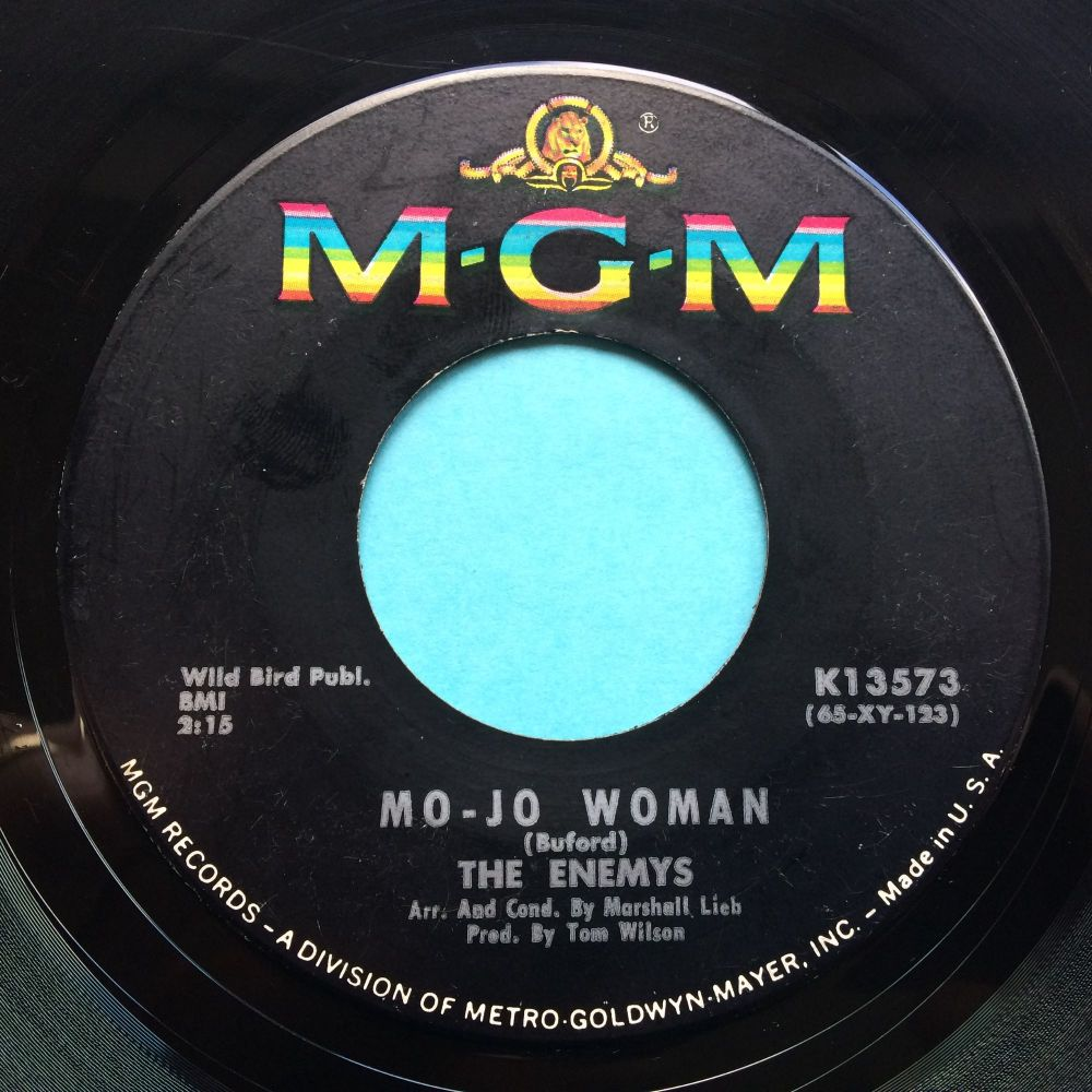 The Enemys - Mo-Jo Woman b/w My dues have been paid - MGM - Ex