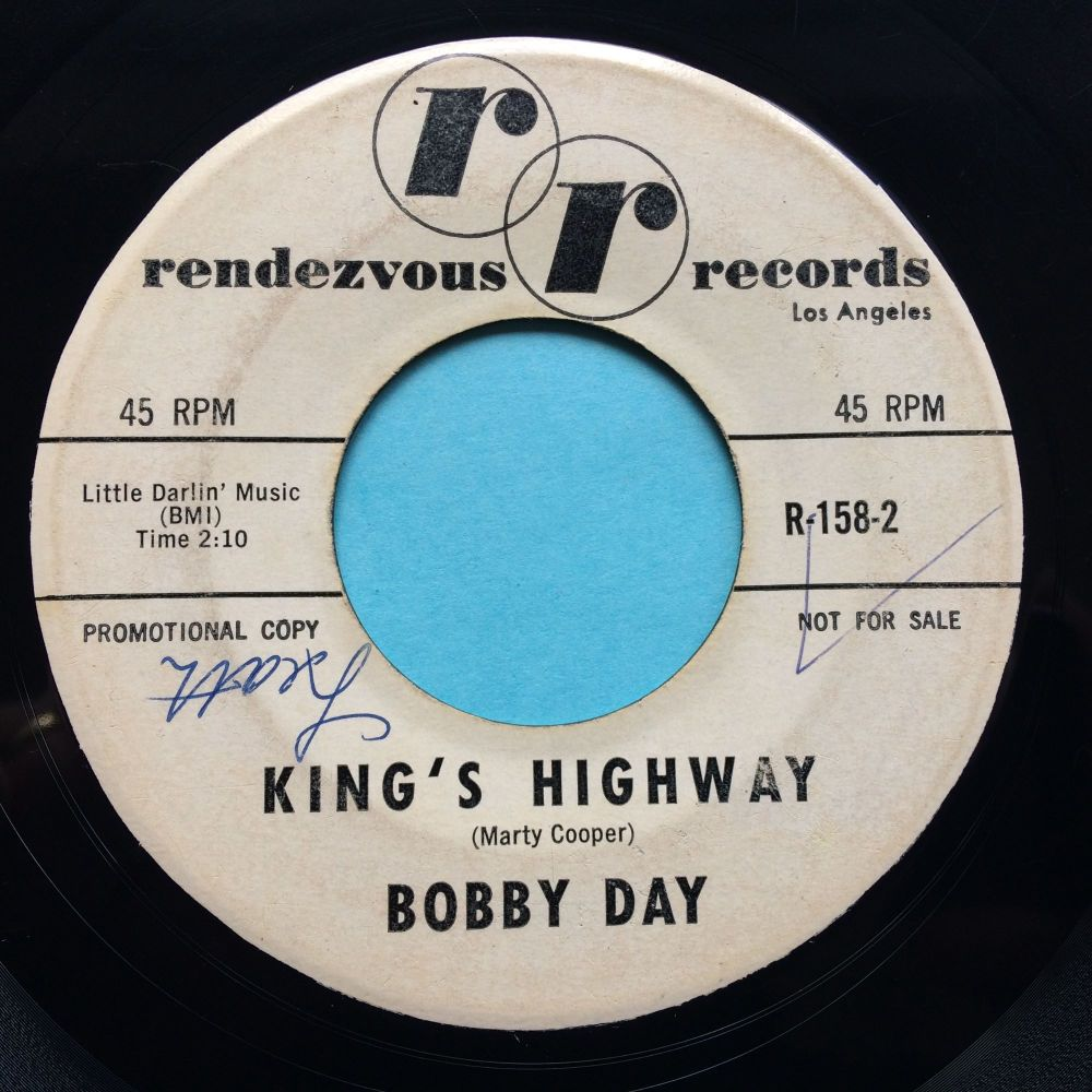 Bobby Day - King's Highway - Rendezvous promo - VG+