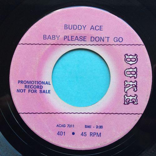 Buddy Ace - Baby please don't go - Duke promo - VG+