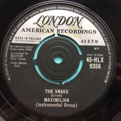 Maximilian - The Snake - UK London - Ex (str residue on labels)