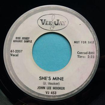 John Lee Hooker - She's mine - Vee-Jay promo - VG+