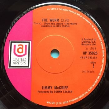 Jimmy McGriff - The worm - U.K. United Artists - Ex-