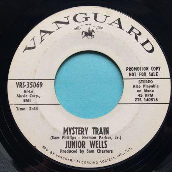 Junior Wells - Mystery Train b/w Stop breakin down - Vanguard promo - Ex-
