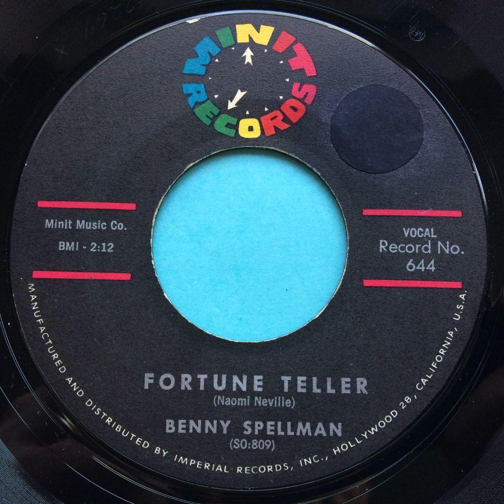 Benny Spellman - Fortune Teller - Minit - Ex- (sol)