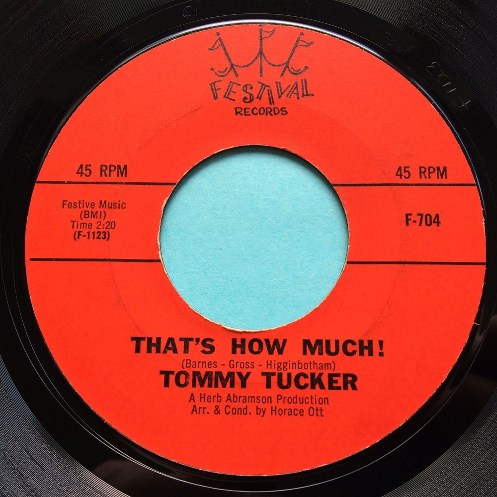 Tommy Tucker - Thats how much - Festival - Ex-