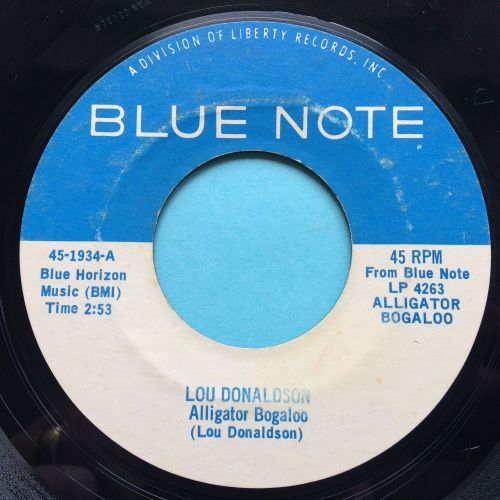 Lou Donaldson - Alligator Boogaloo - Blue Note - Ex