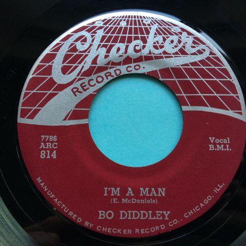 Bo Diddley - I'm a man b/w Bo Diddley - Checker (webtop) - M-