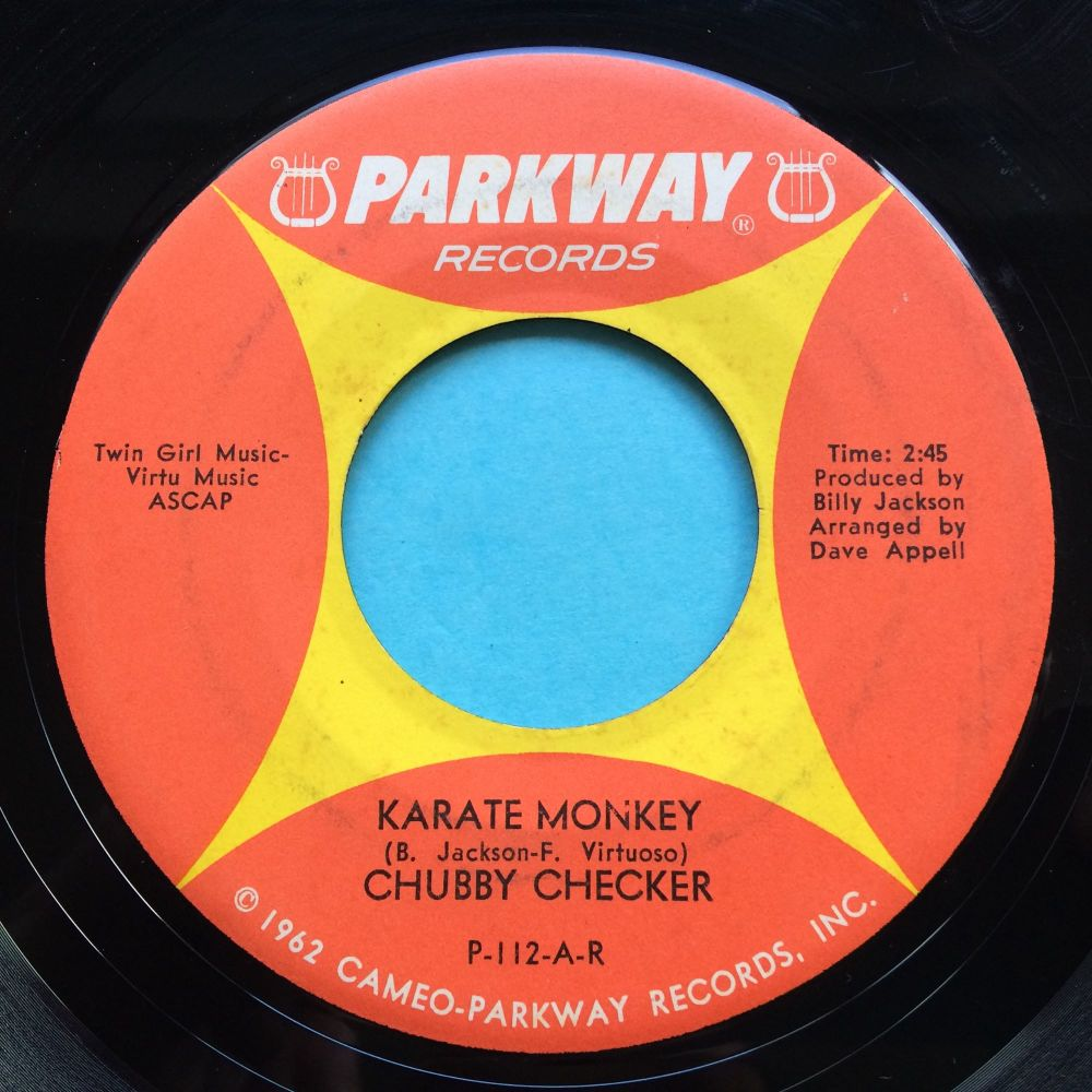 Chubby Checker - Karate Monkey - Parkway - VG+