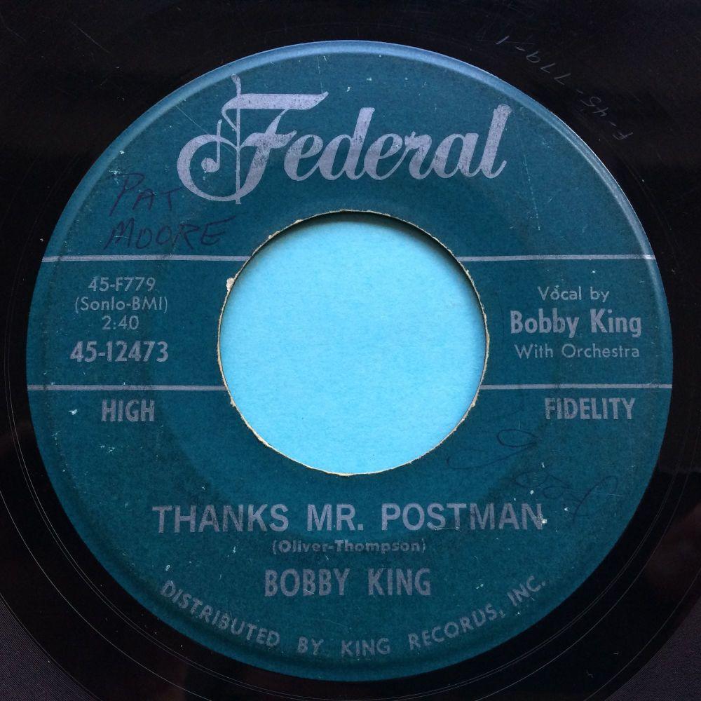 Bobby King - Thanks Mr. Postman - Federal - VG+