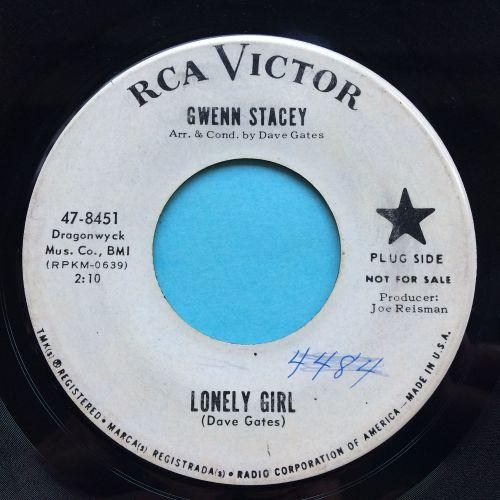 Gwenn Stacey - Lonely Girl - RCA promo - VG+ (swol)