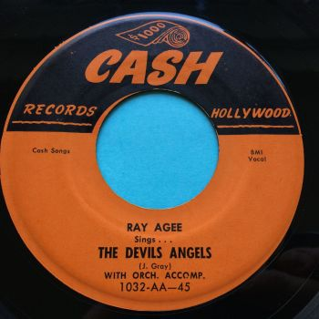 Ray Agee - The Devils Angels - Cash - Ex