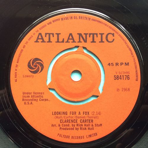 Clarence Carter - Looking for a fox - U.K. Atlantic - Ex