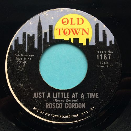 Rosco Gordon - Just a little at a time - Old Town - Ex-