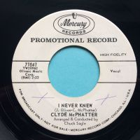 Clyde McPhatter - I never knew - Mercury promo - Ex