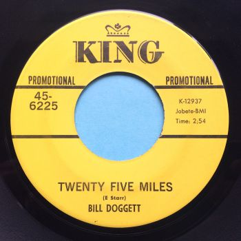 Bill Doggett - Twenty Five Miles - King promo - VG+
