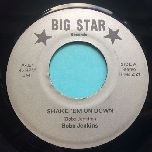 Bobo Jenkins - Shake 'em on down - Big Star - Ex