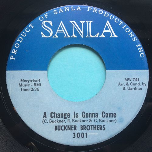 Buckner Brothers - A change is gonna come b/w Love you from the bottom of m