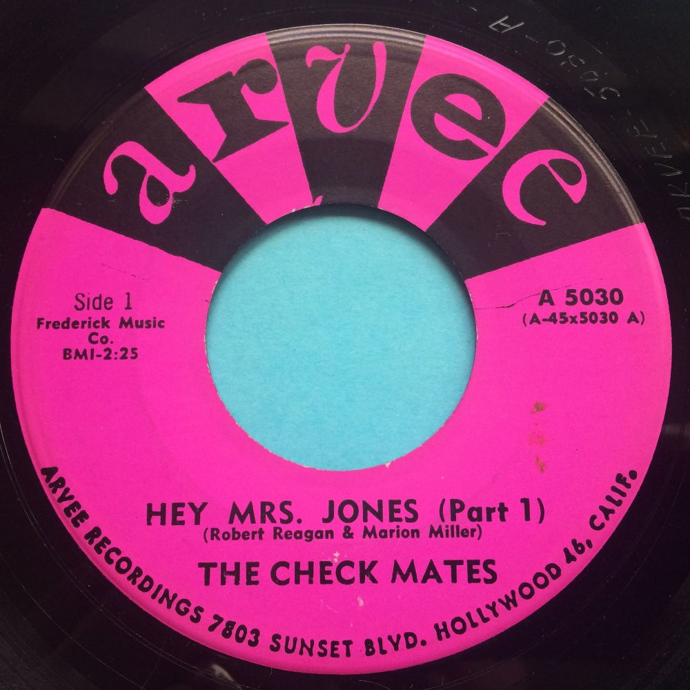 Check Mates - Hey Mrs Jones - Arvee - Ex