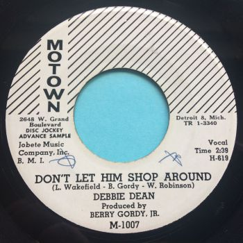 Debbie Dean - Don't let him shop around - Motown promo - Ex