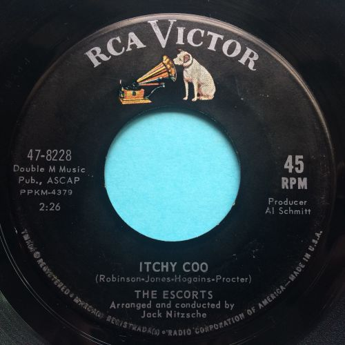 Escorts - Itchy Coo b/w You can't even be my friend - RCA - Ex