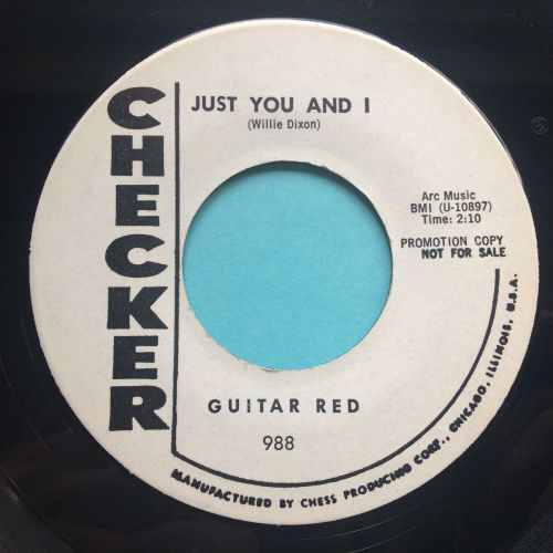 Guitar Red - Just You and I - Checker promo - Ex