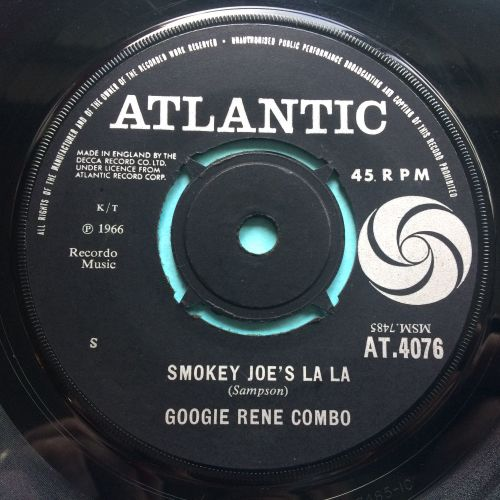 Googie Rene Combo - Smokey Joe's La La - U.K. Atlantic - VG+