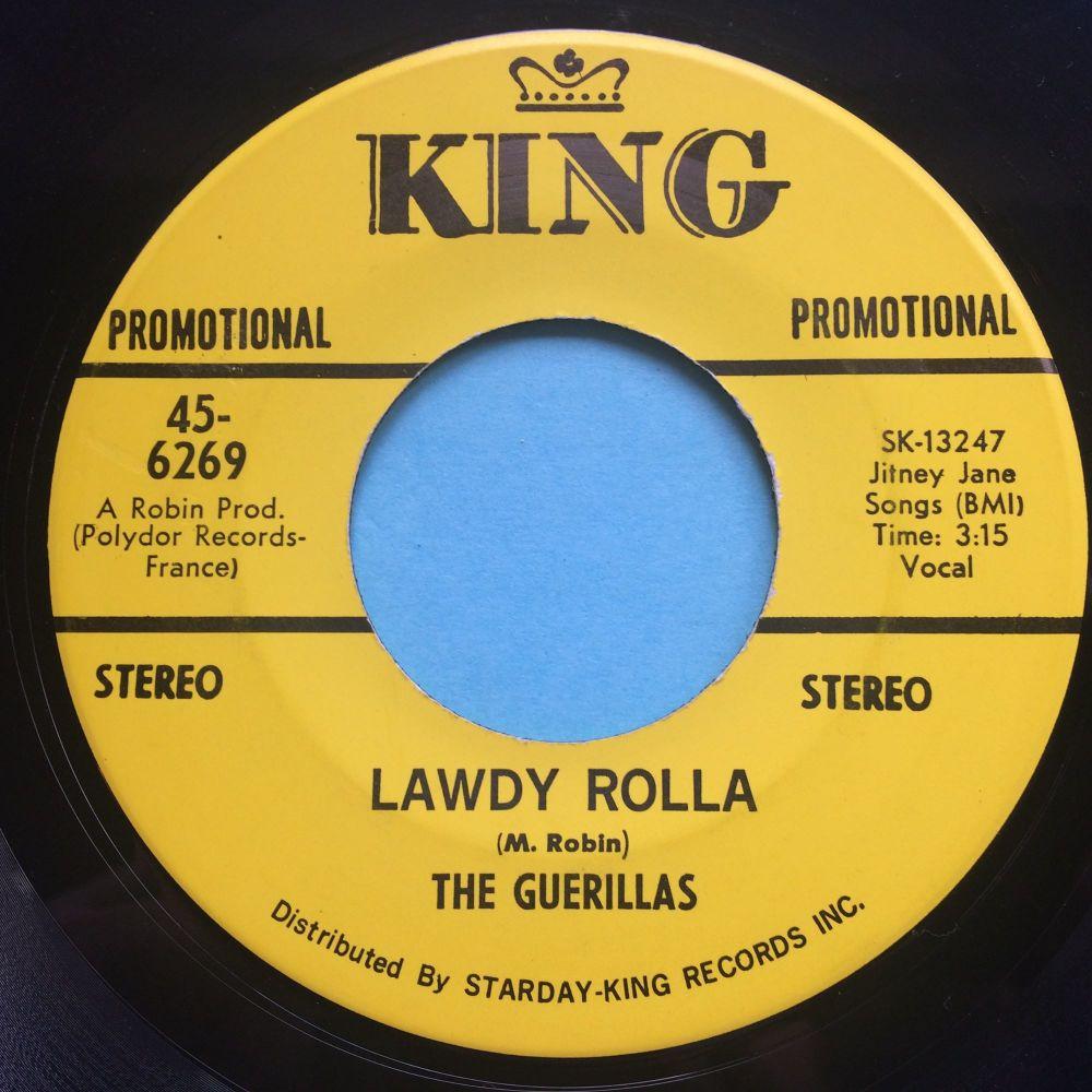 Guerillas - Lawdy Rolla - King promo - Ex