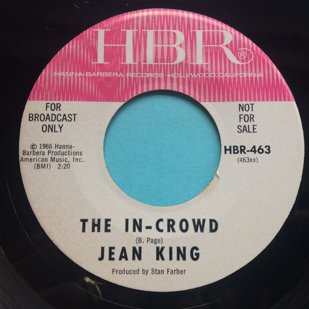 Jean King - The In-Crowd - HBR promo - Ex