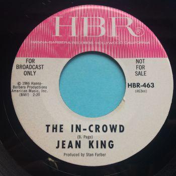 Jean King - The In-Crowd b/w Watermelon man - HBR promo - Ex
