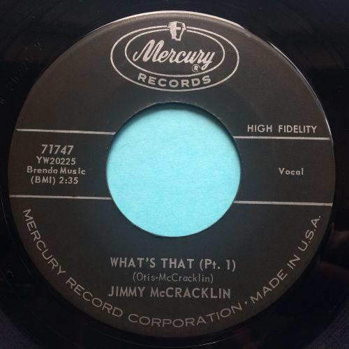 Jimmy McCracklin - What's that - Mercury - VG+ (Vinyl)