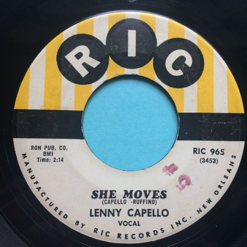 Lenny Capello - She moves - RIC - VG+