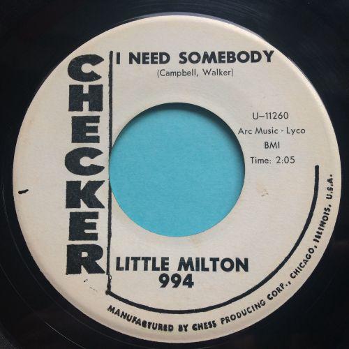 Little Milton - I need somebody - Chess (rare promo) - Ex